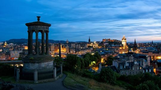 Calton Hill, Edinburh